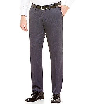 Murano Alex Slim-Fit Dobby Flat-Front Pants