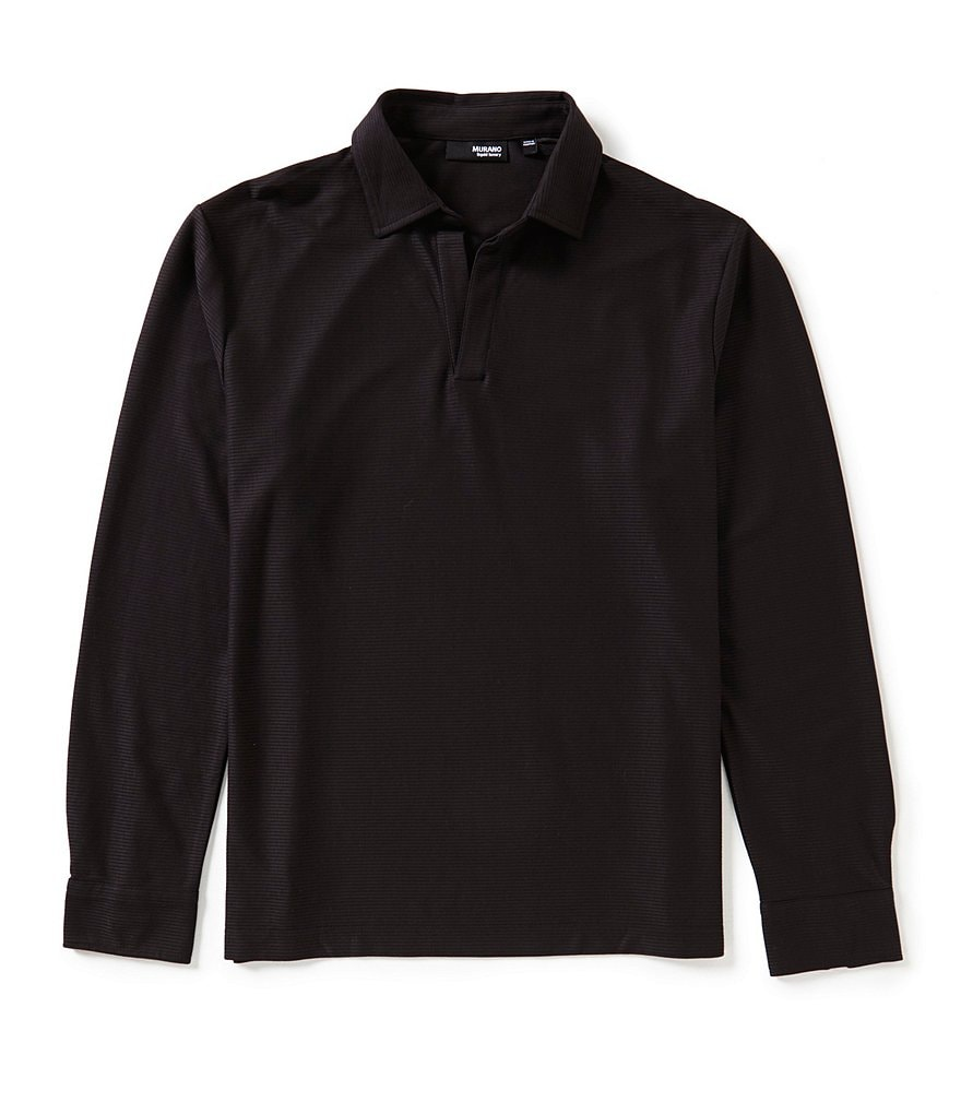 Murano Liquid Luxury Long-Sleeve Johnny Shirt