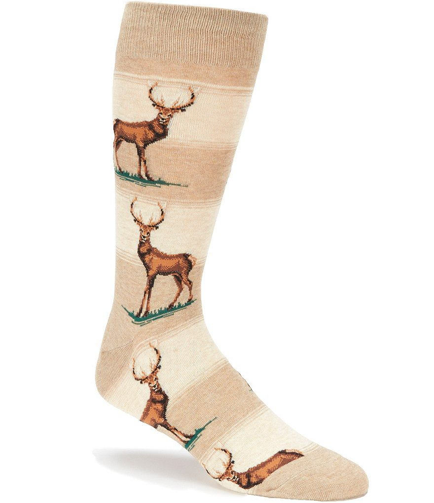 Hot Sox Elk Crew Socks