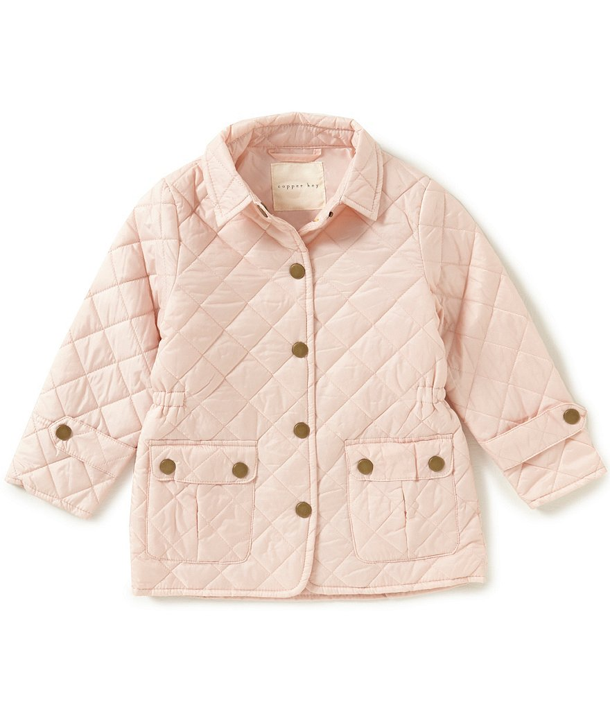 Copper Key Little Girls 2T-6X Quilted Jacket