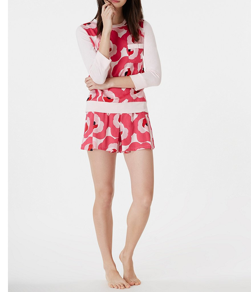 kate spade new york Floral Sateen Pajamas