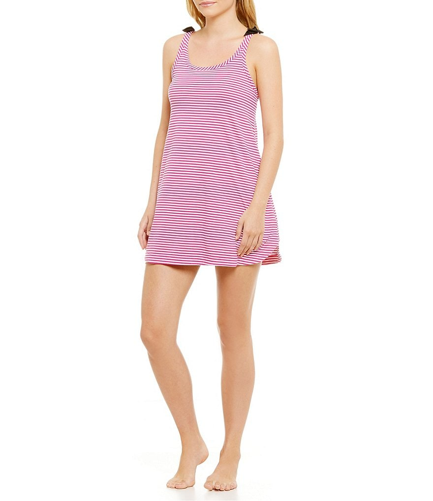 kate spade new york Striped Jersey Chemise