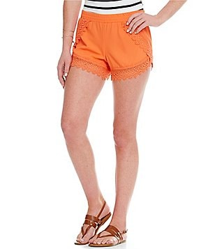 GB Fan Fav Novelty Trim Elastic Shorts