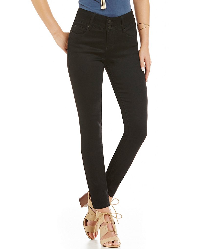 See Thru Soul Double Button Skinny Jean