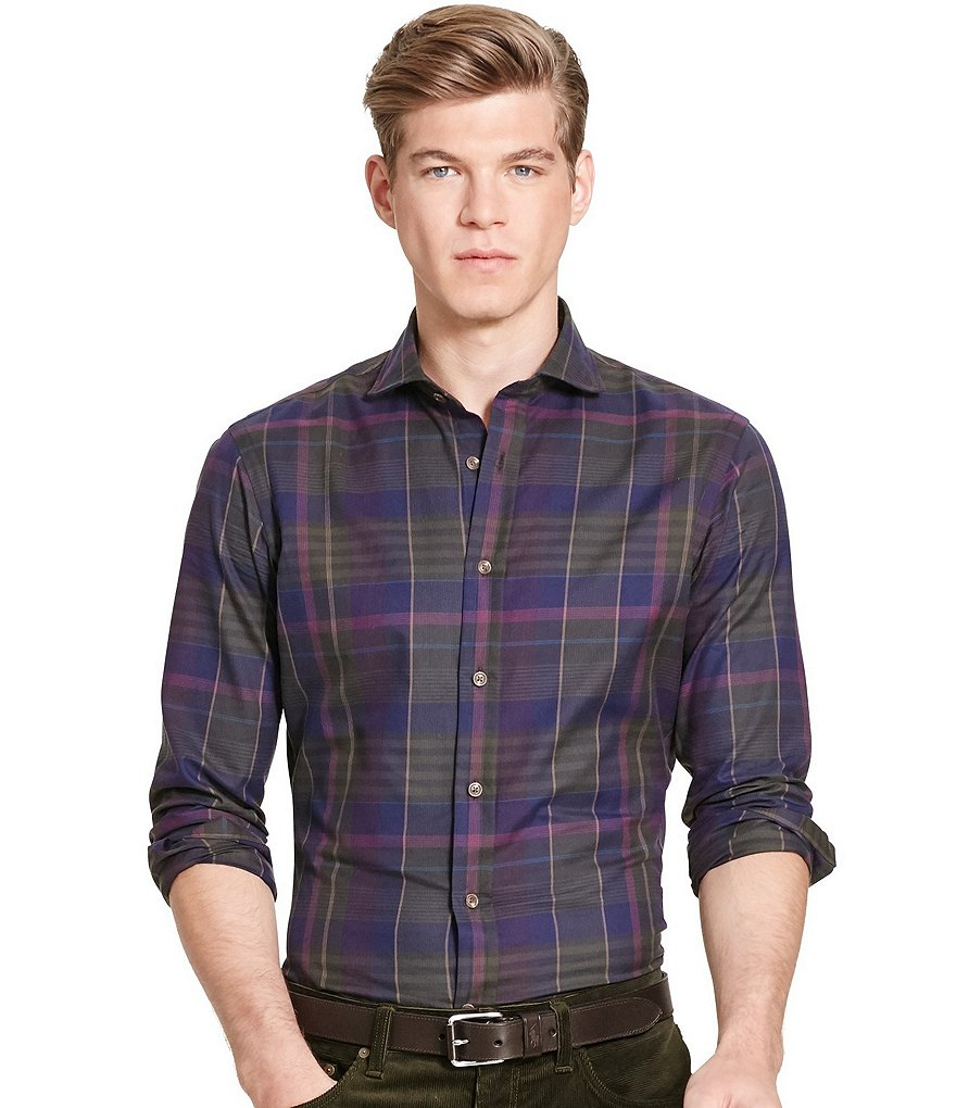 Polo Ralph Lauren Slim-Fit Plaid Twill Shirt
