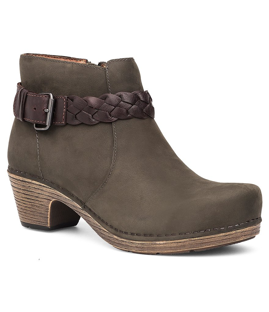 Dansko Michelle Buckle Strap Booties