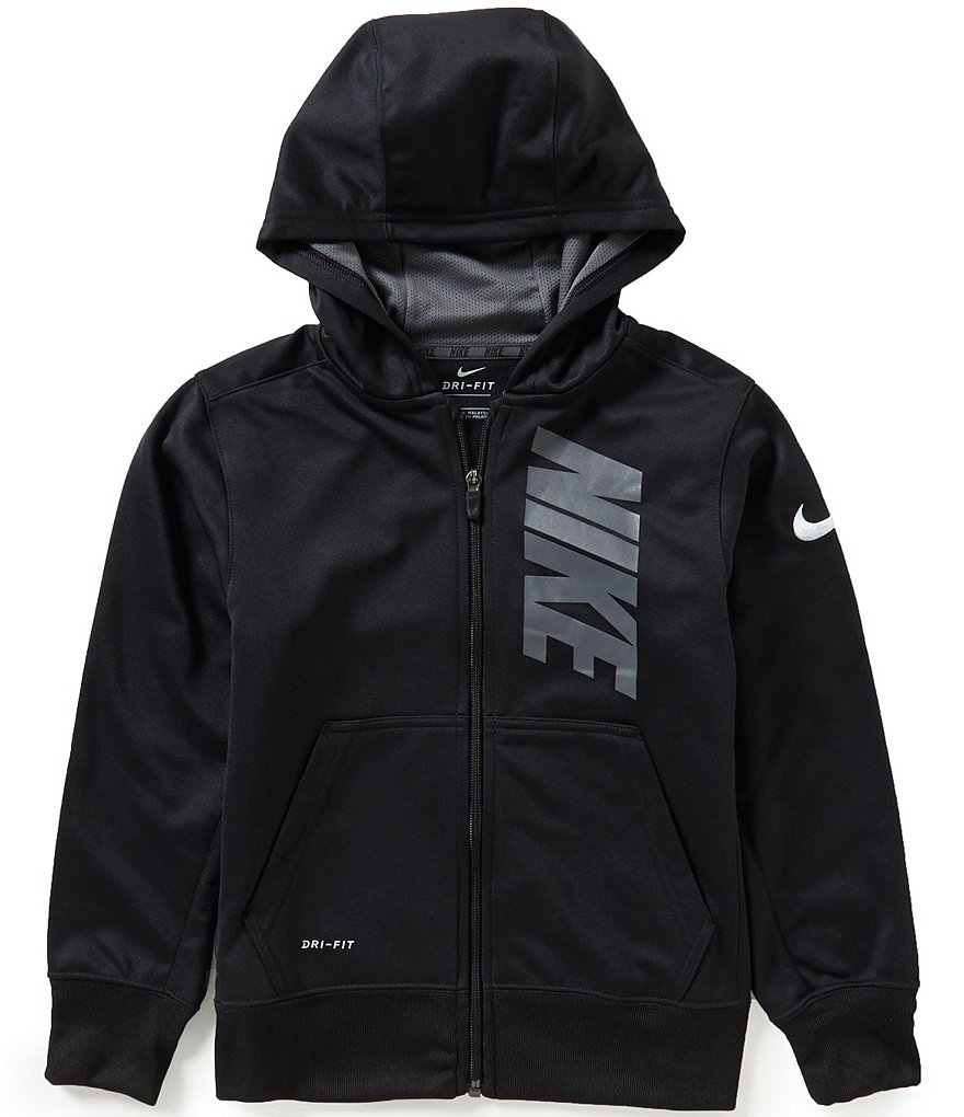 Nike Big Boys 8-20 Dri-FIT Therma Hoodie