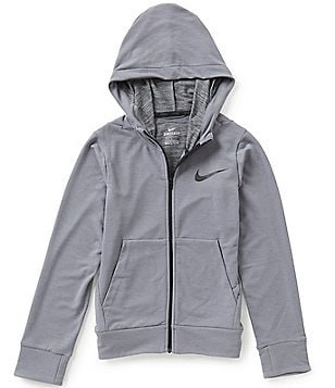 Nike Big Boys 8-20 Dri-FIT Training Fleece Hoodie