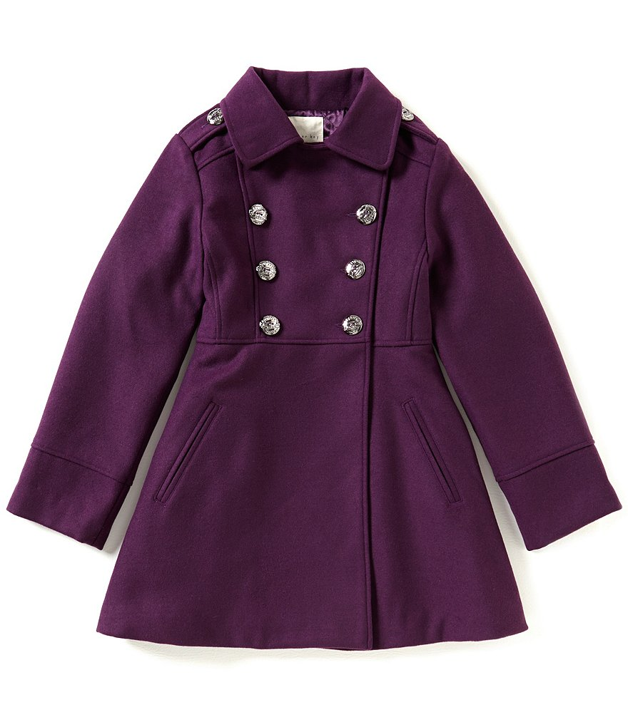 Copper Key Big Girls 7-16 Military Coat