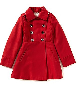 Copper Key Little Girls 2T-6X Military Coat