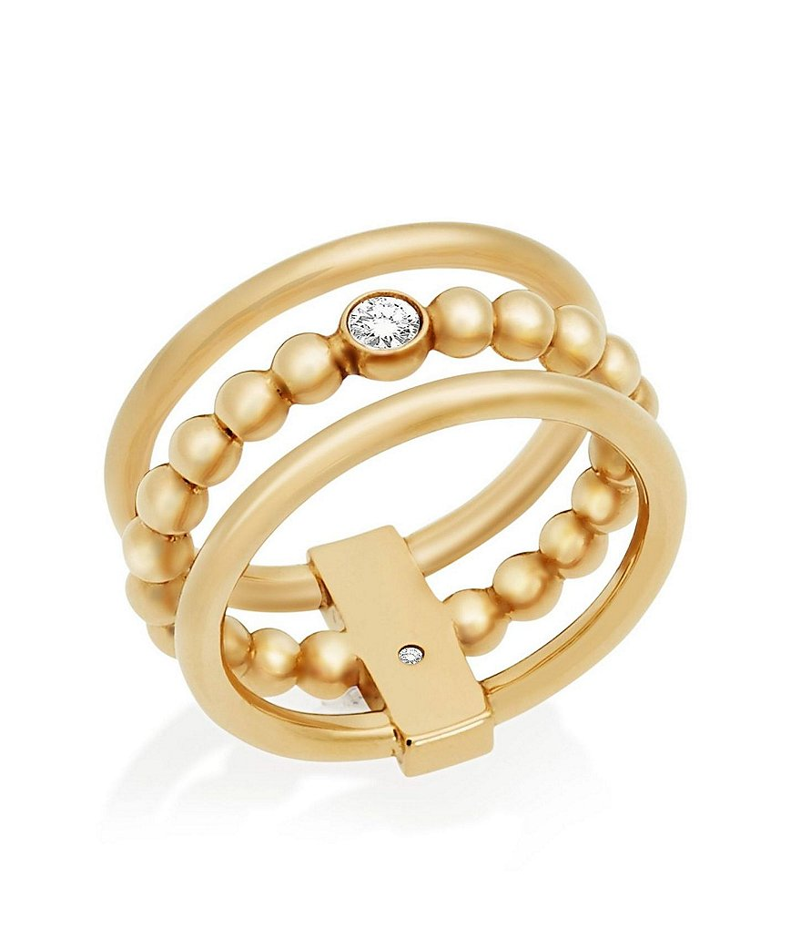 Michael Kors Stone Barrel Ring