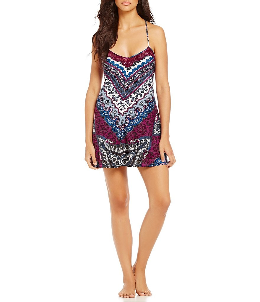 In Bloom by Jonquil Lisbon Paisley Chemise