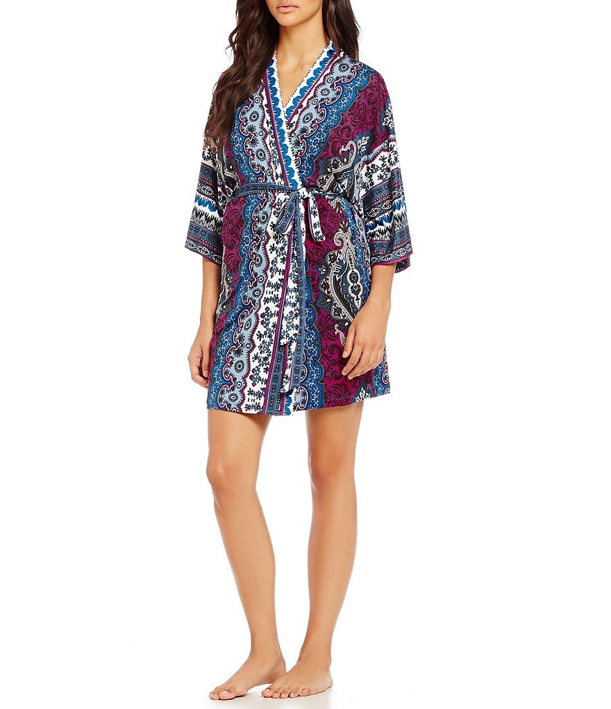 In Bloom by Jonquil Lisbon Paisley Robe