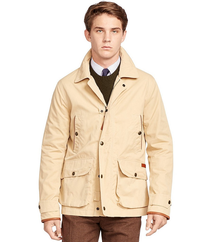 Polo Ralph Lauren Modern Bantom Cotton-Blend Twill Utility Coat