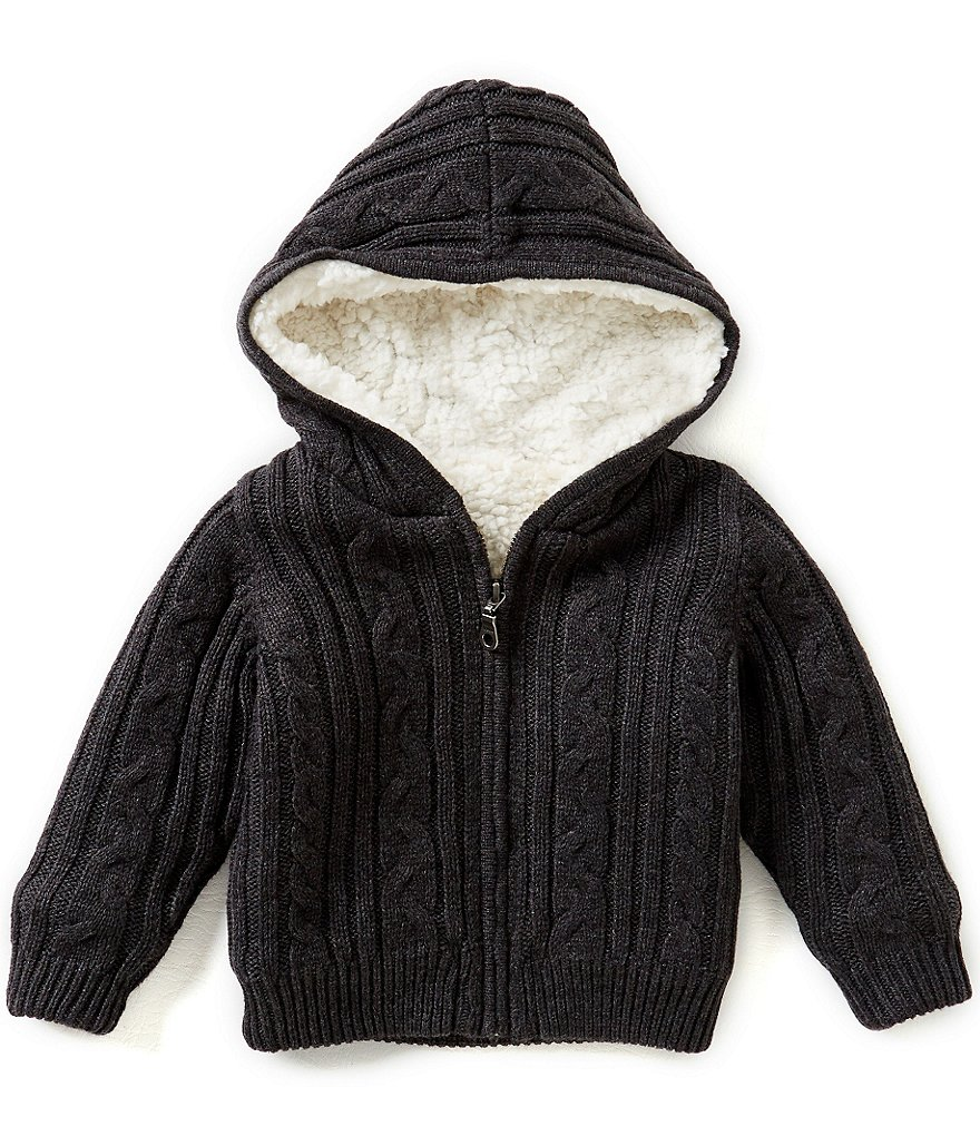Starting Out Baby Boys 12-24 Months Cable Knit Sweater Jacket