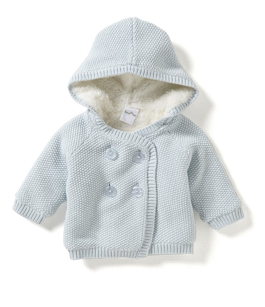 Starting Out Baby Boys 3-9 Months Hooded Sweater Coat