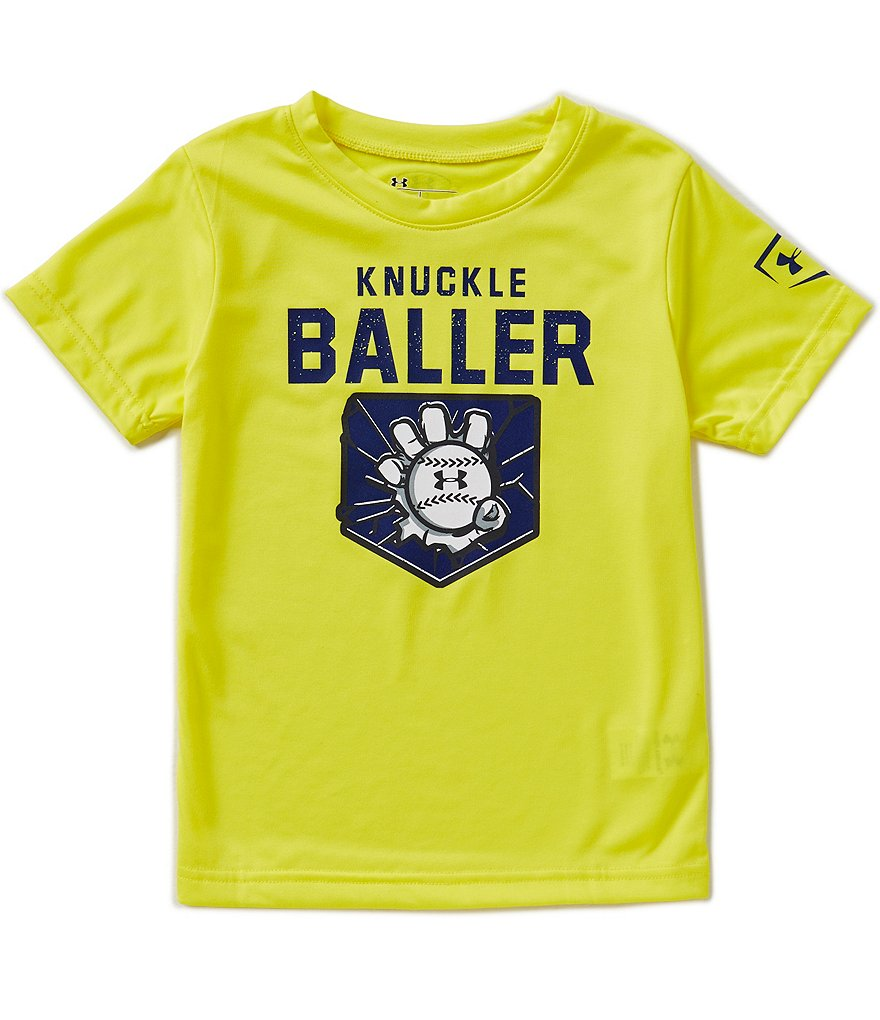 Under Armour Little Boys 4-7 Knuckle Baller Short-Sleeve Graphic Tee