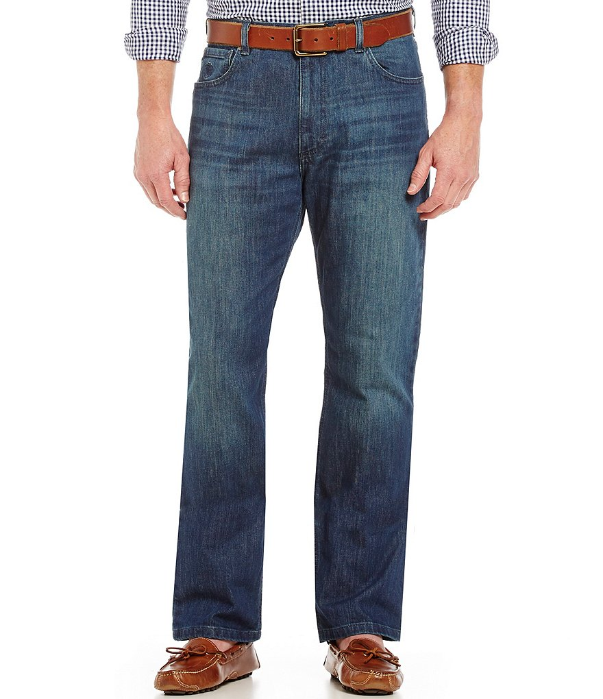 Hart Schaffner Marx Straight-Fit Jeans