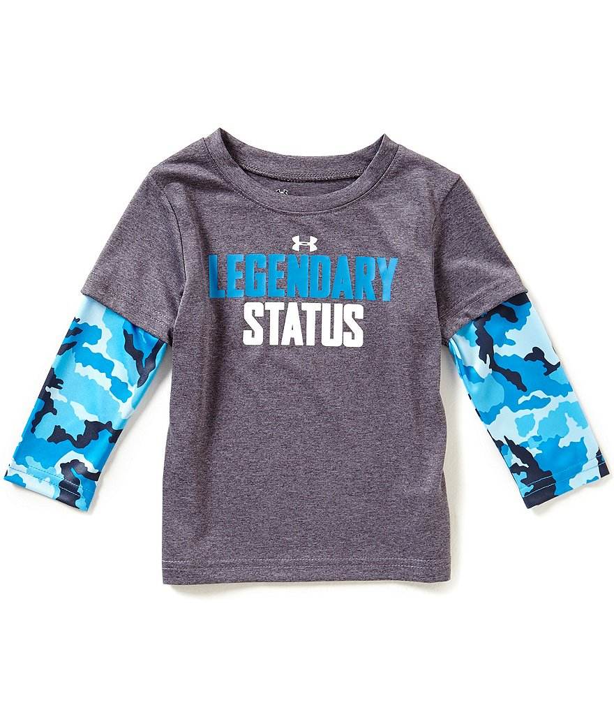 Under Armour Baby Boys 12-24 Months Legendary Status Two-Fer Tee