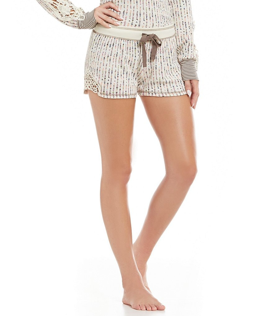 PJ Salvage Teeny Teepee Thermal Lounge Shorts