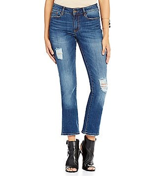Buffalo David Bitton Hope Straight Ankle Jeans