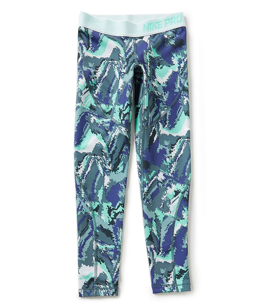 Nike Big Girls 7-16 Dri-FIT Hyperwarm Printed Tights