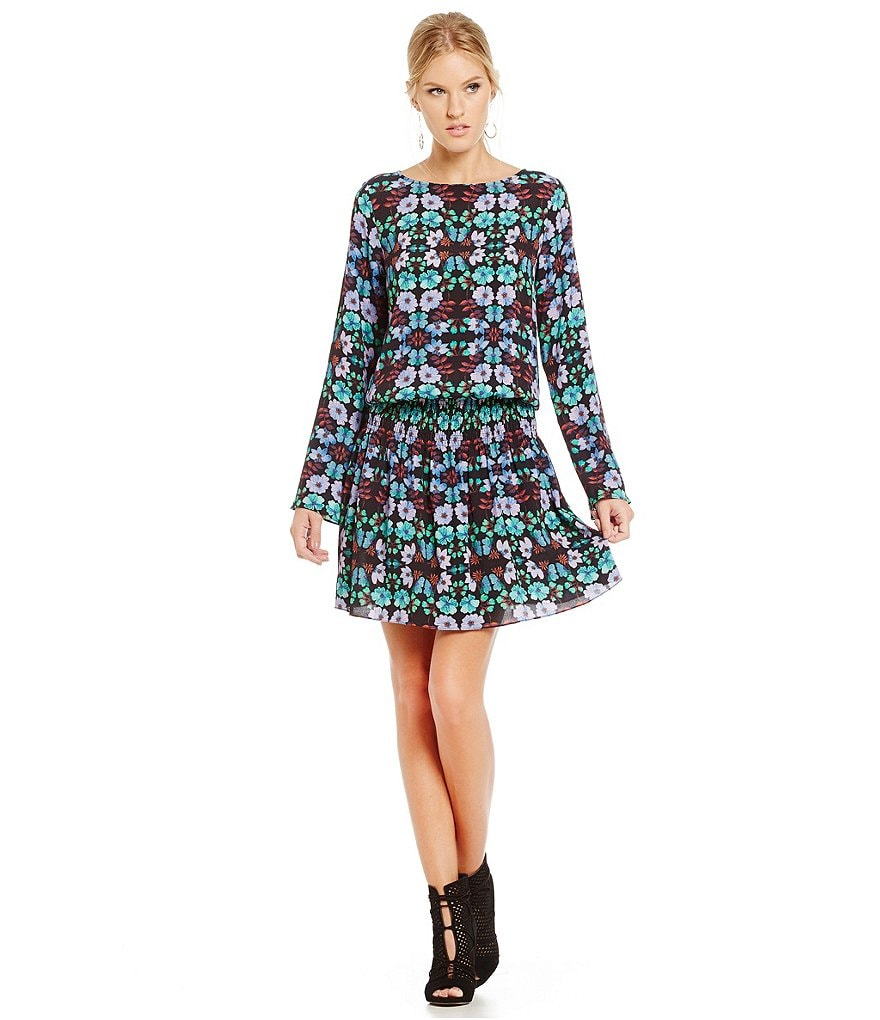 Nicole Miller Artelier Nordic Flower Dress