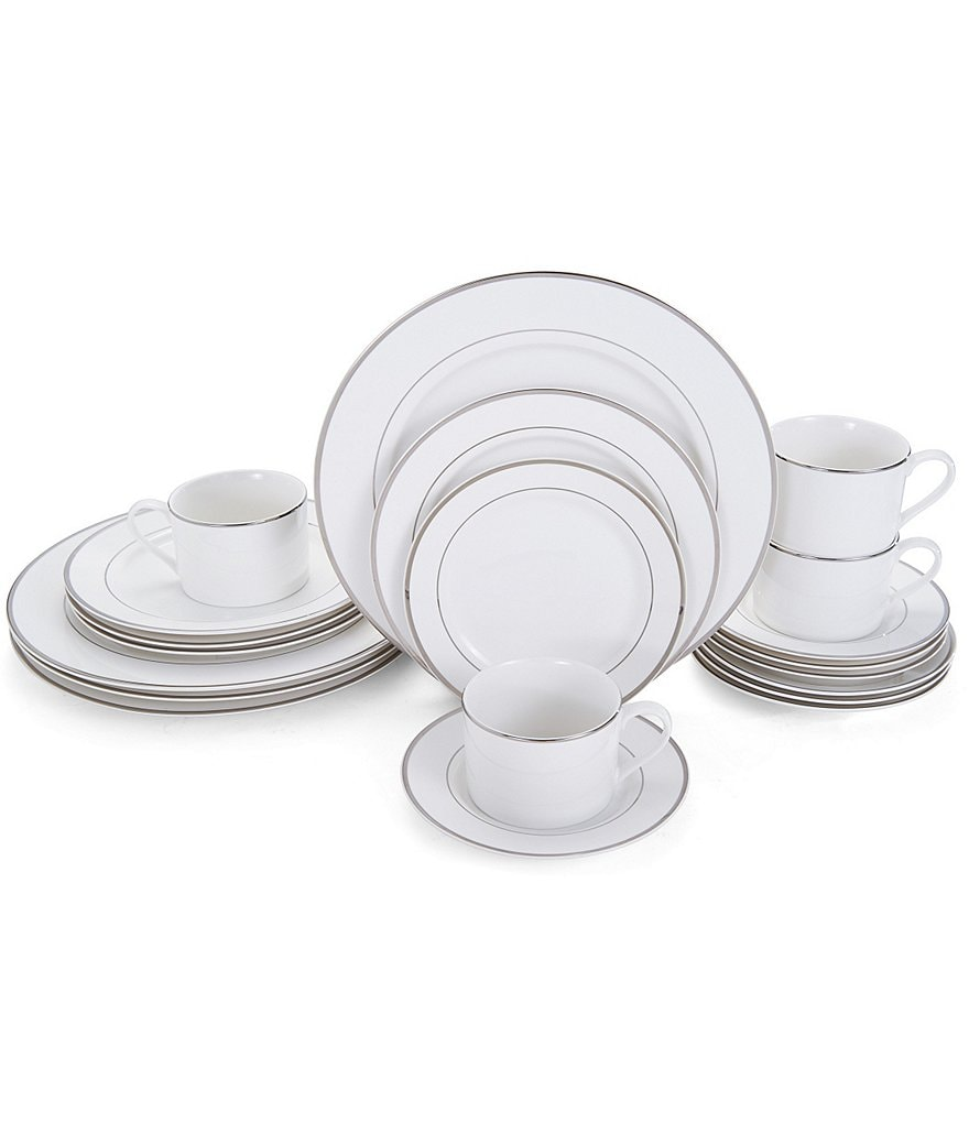 Mikasa Haley 20-Piece Platinum China Set