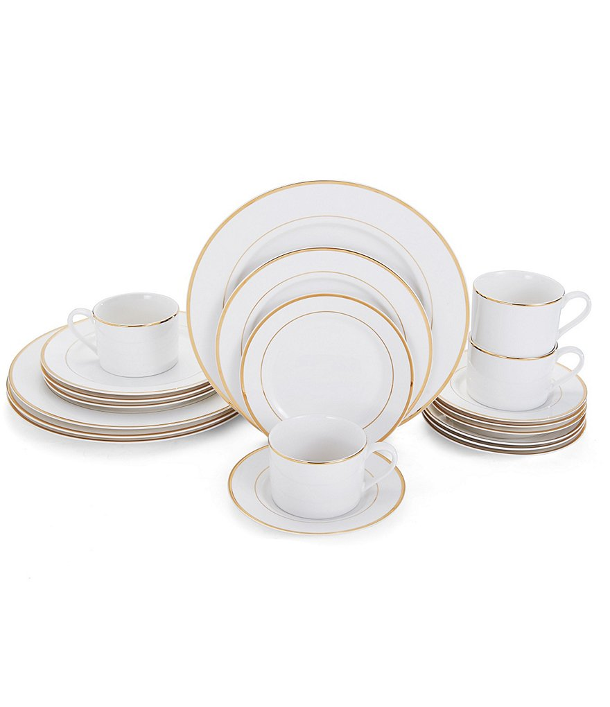 Mikasa Haley Gold 20-Piece China Set