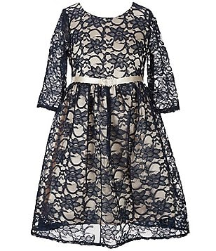 Chantilly Place Big Girls 7-16 Skater Lace Dress