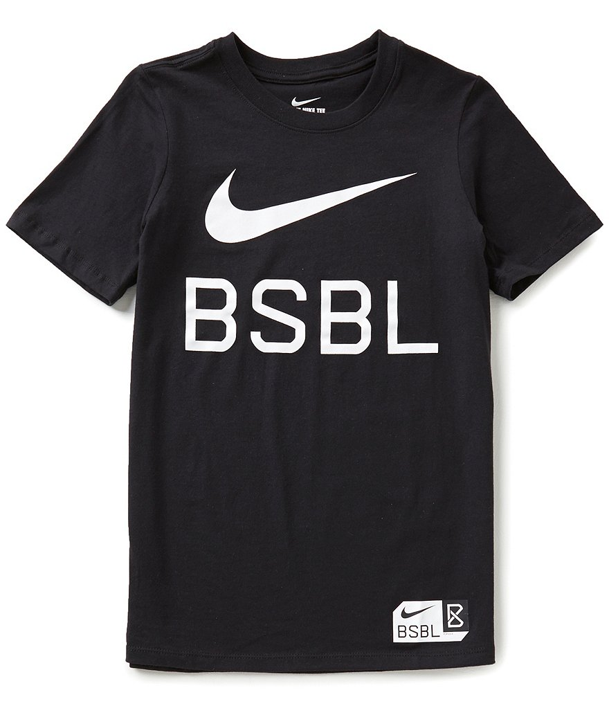 Nike Big Boys 8-20 BSBL Short-Sleeve Tee