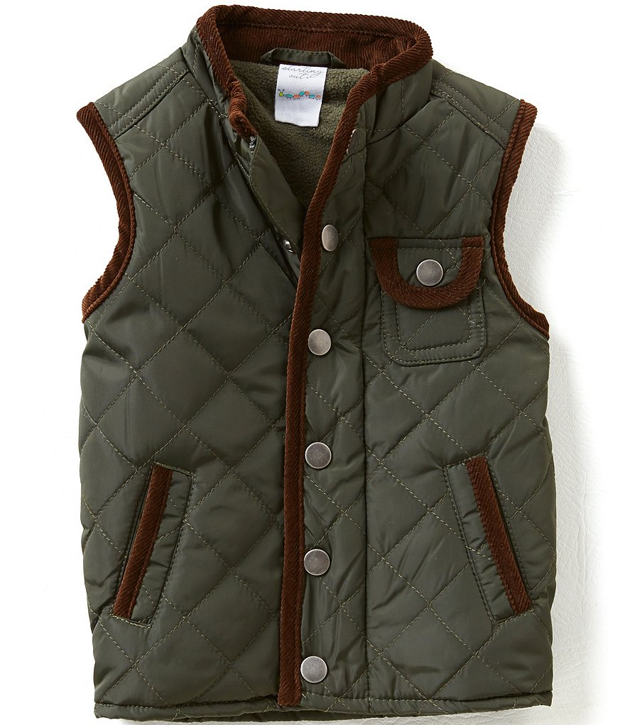Starting Out Baby Boys 12-24 Months Quilted Vest