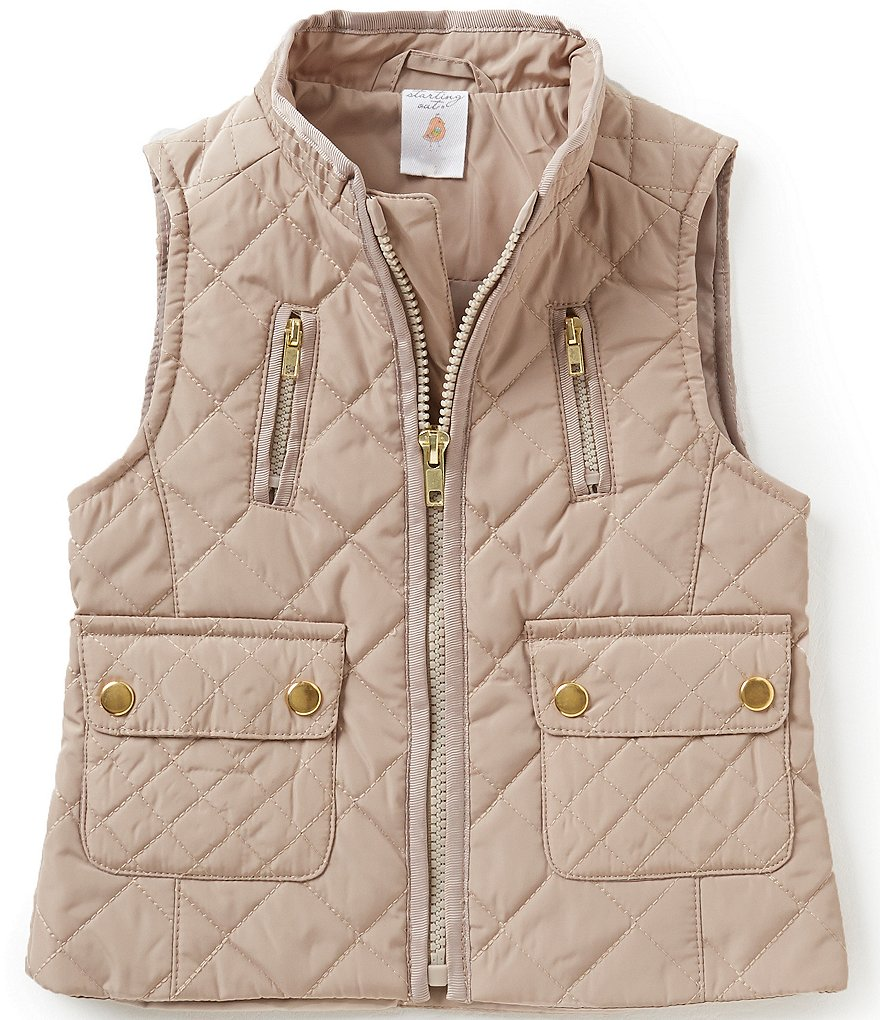 Starting Out Baby Girls 12-24 Months Quilted Vest