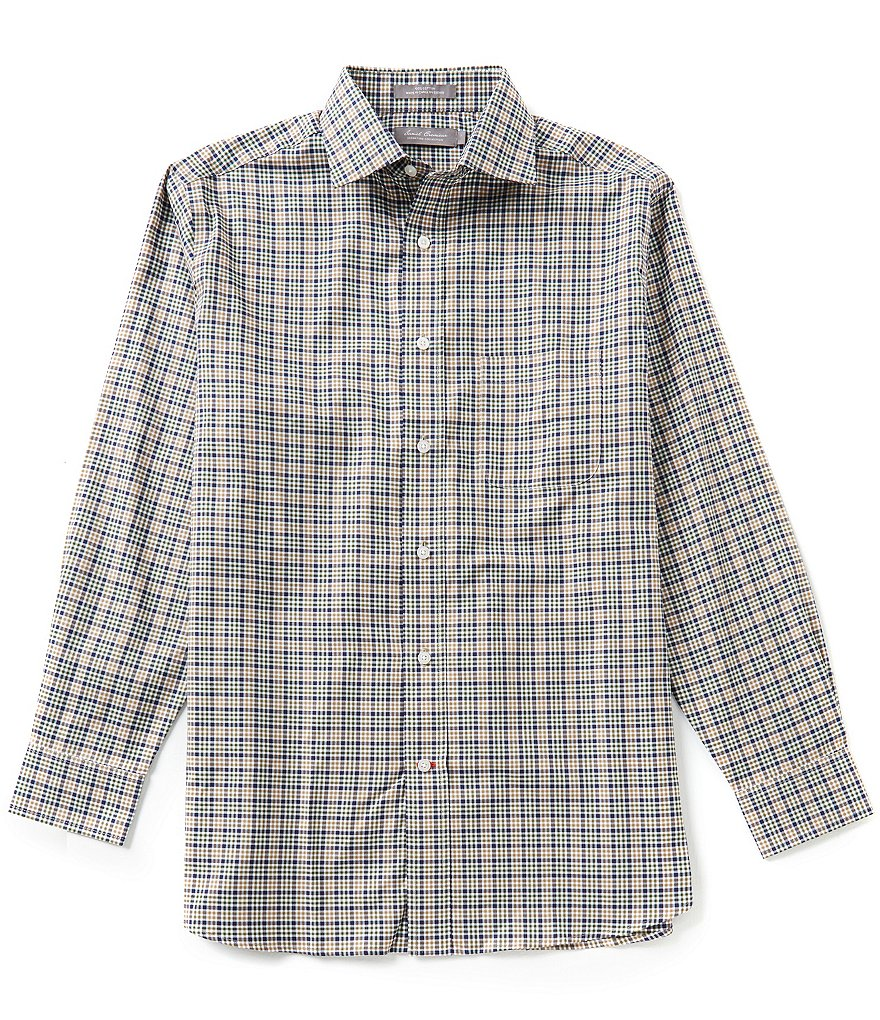 Daniel Cremieux Signature Long-Sleeve Multi-Check Woven Shirt