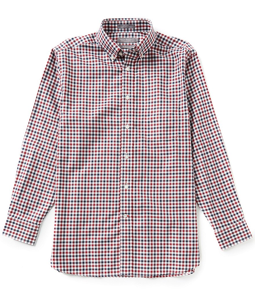 Daniel Cremieux Signature Long-Sleeve Non-Iron Check Woven Shirt
