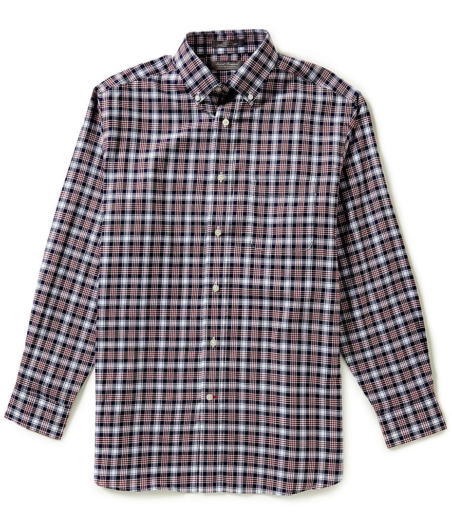 Daniel Cremieux Signature Long-Sleeve Plaid Twill Woven Shirt
