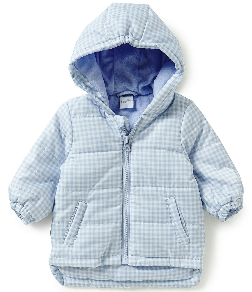 Starting Out Baby Boys 3-9 Months Gingham Coat