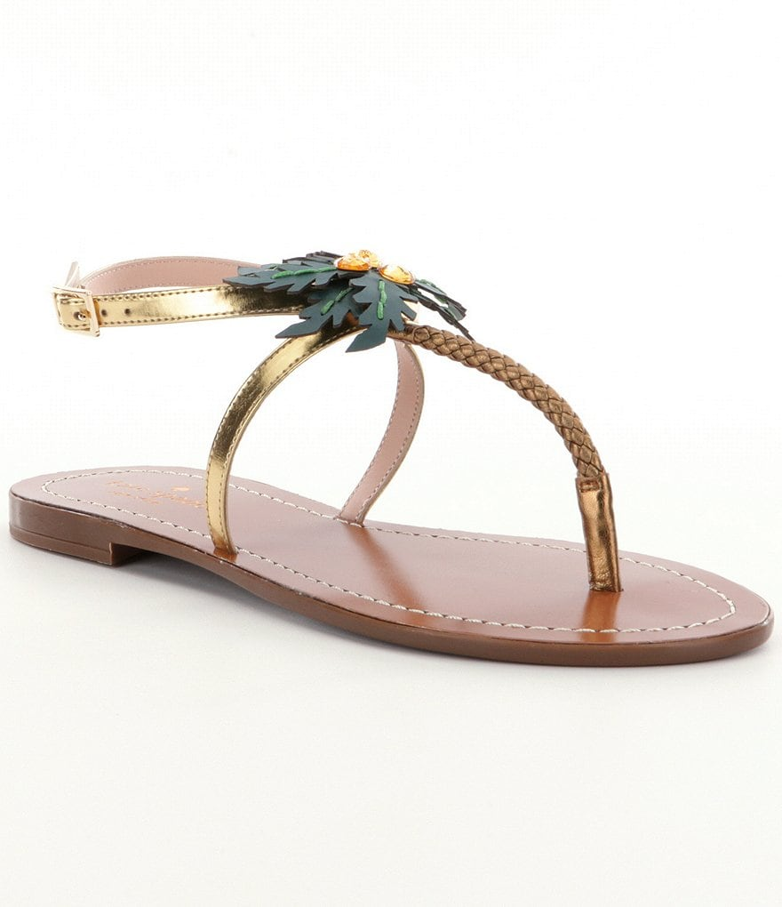kate spade new york Solana Thong Sandals