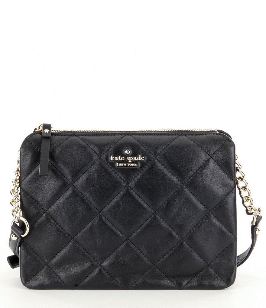 kate spade new york Emerson Place Harbor Quilted Cross-Body Bag