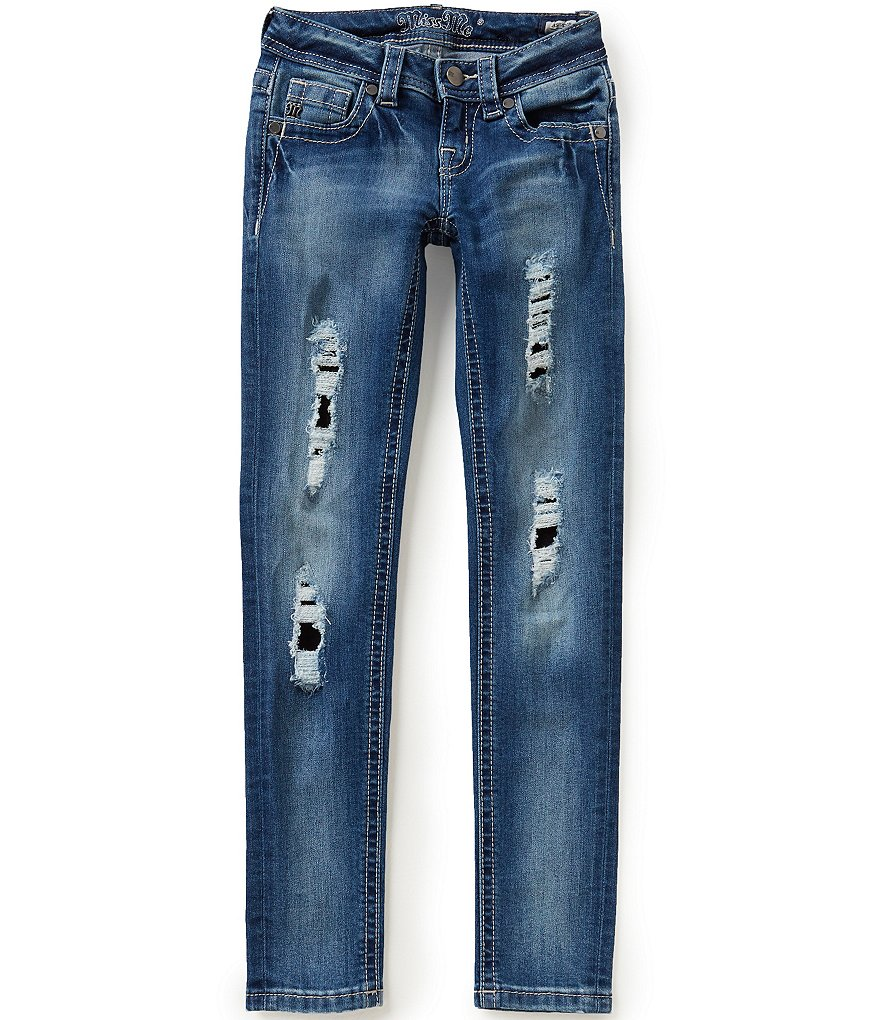 Miss Me Big Girls 7-16 Skinny Distressed Jeans