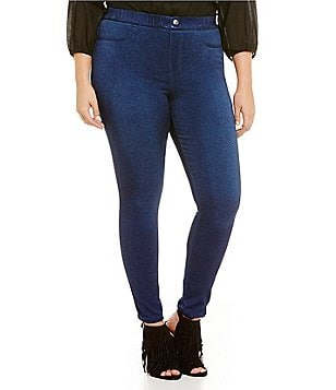 Intro Plus Denim Pull-On Jeggings
