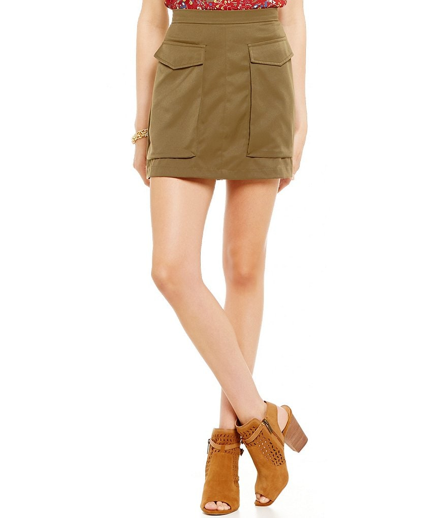 Soprano Cargo Mini Skirt