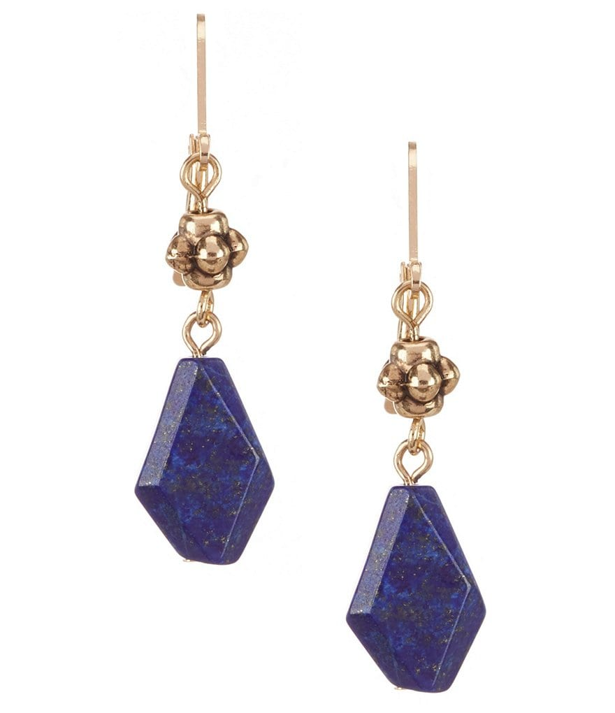 Dillard´s Tailored Stone Drop Earrings