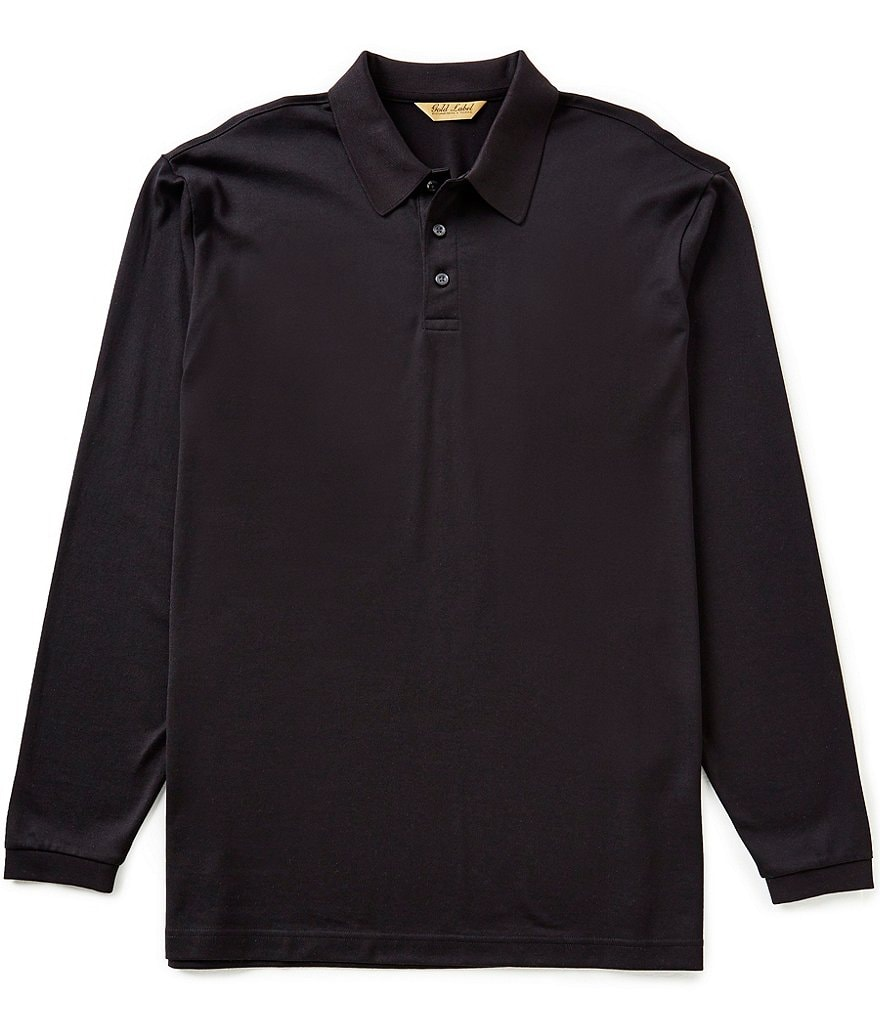 Gold Label Roundtee & Yorke Long-Sleeve Solid Polo