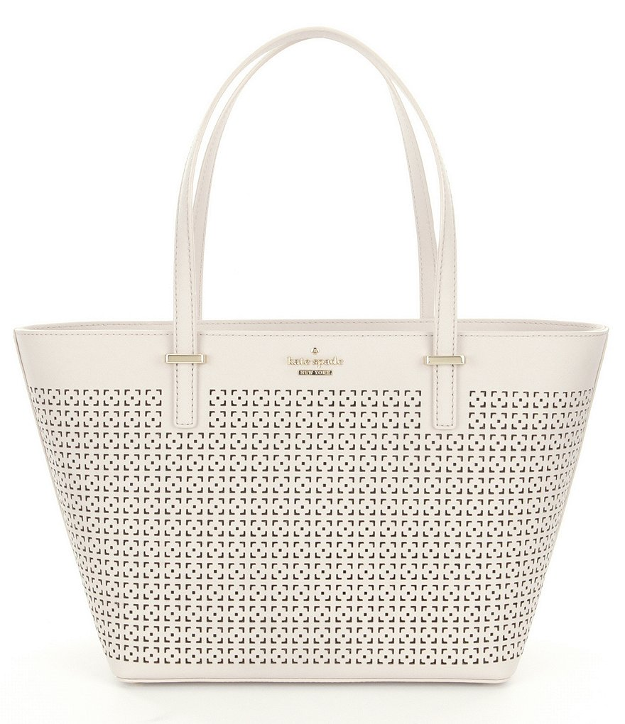 kate spade new york Cedar Street Collection Mini Harmony Perforated Tote