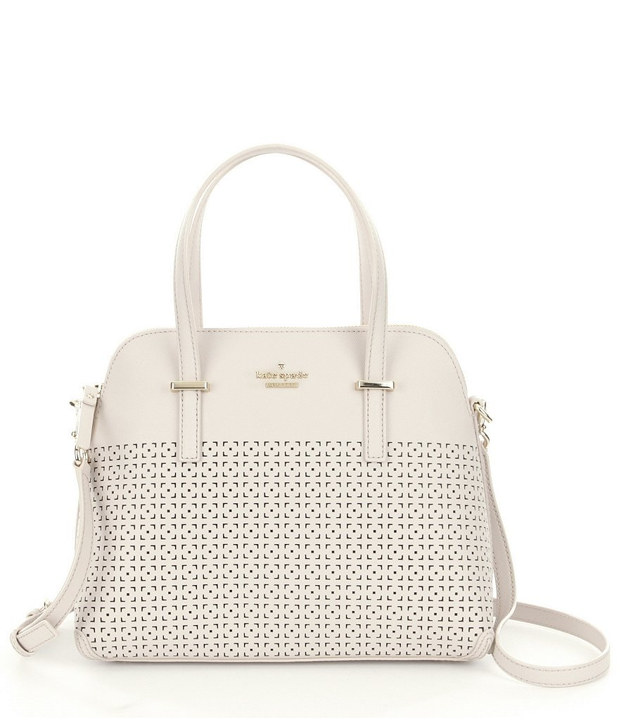 kate spade new york Cedar Street Collection Maise Perforated Satchel