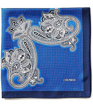 Cremieux Connected Persian Paisley Pocket Square
