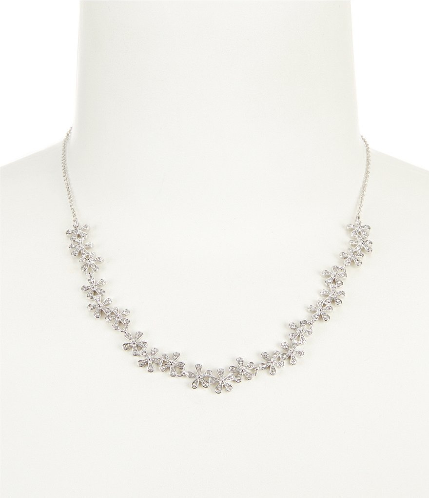 Lauren Ralph Lauren Spring Bridal Flower Collar Necklace
