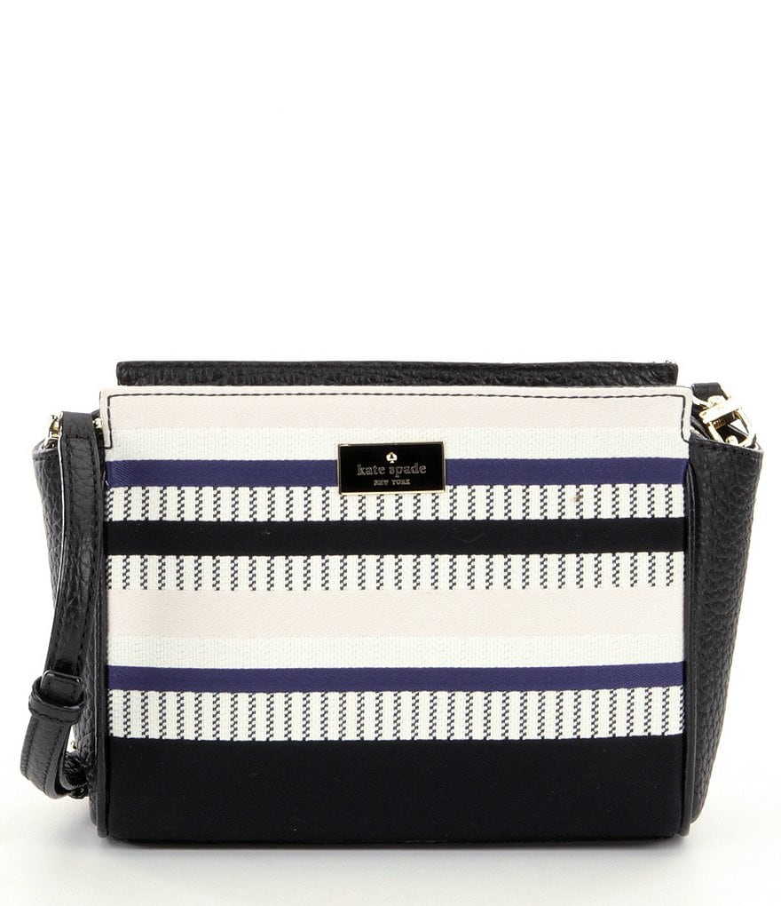 kate spade new york Prospect Place Collection Hayden Striped Cross-Body Bag