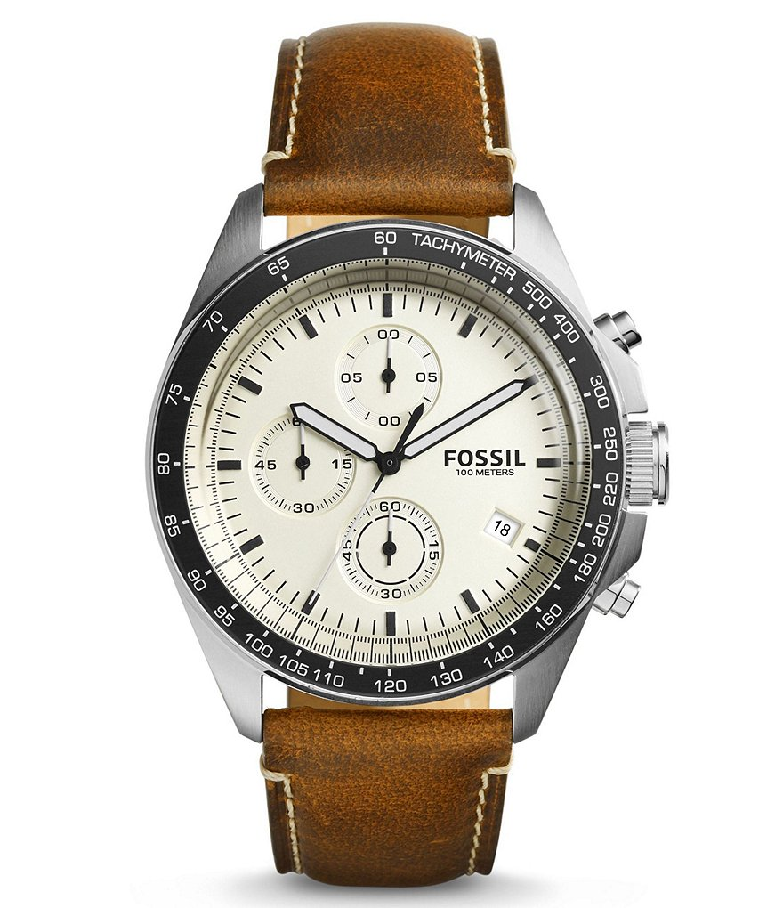Fossil Sport 54 Chronograph & Date Watch